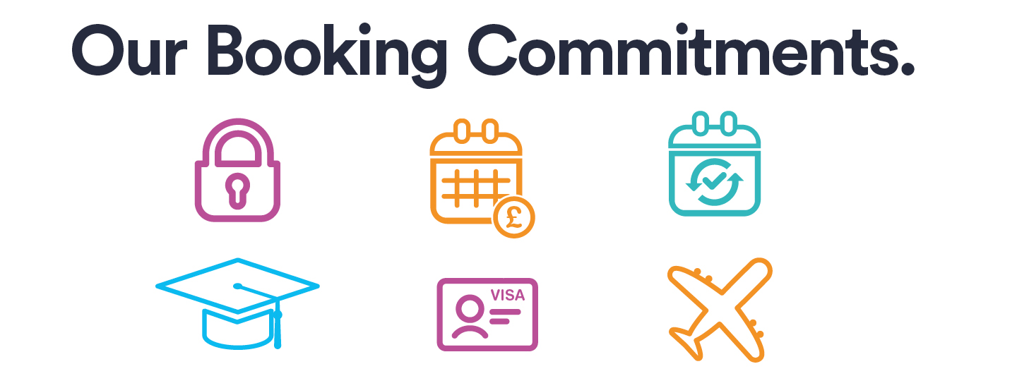 host - our booking commitments header
