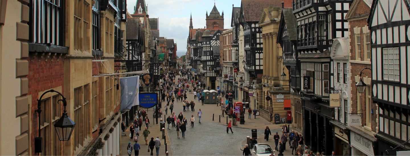 So, Chester… What's it like