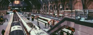 student-travel-train-station