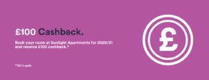 sunlight apartments 100 cashback