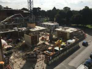 Southampton Crossings Building Site 2018