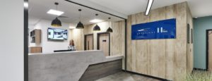 Southampton Crossings Student Accommodation Reception