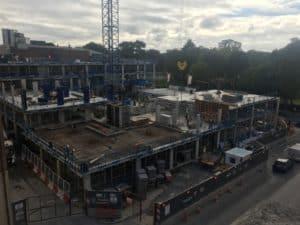 Southampton Crossings building site 2