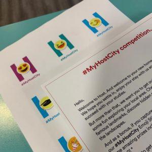 myhostcity postcard and sticker shot