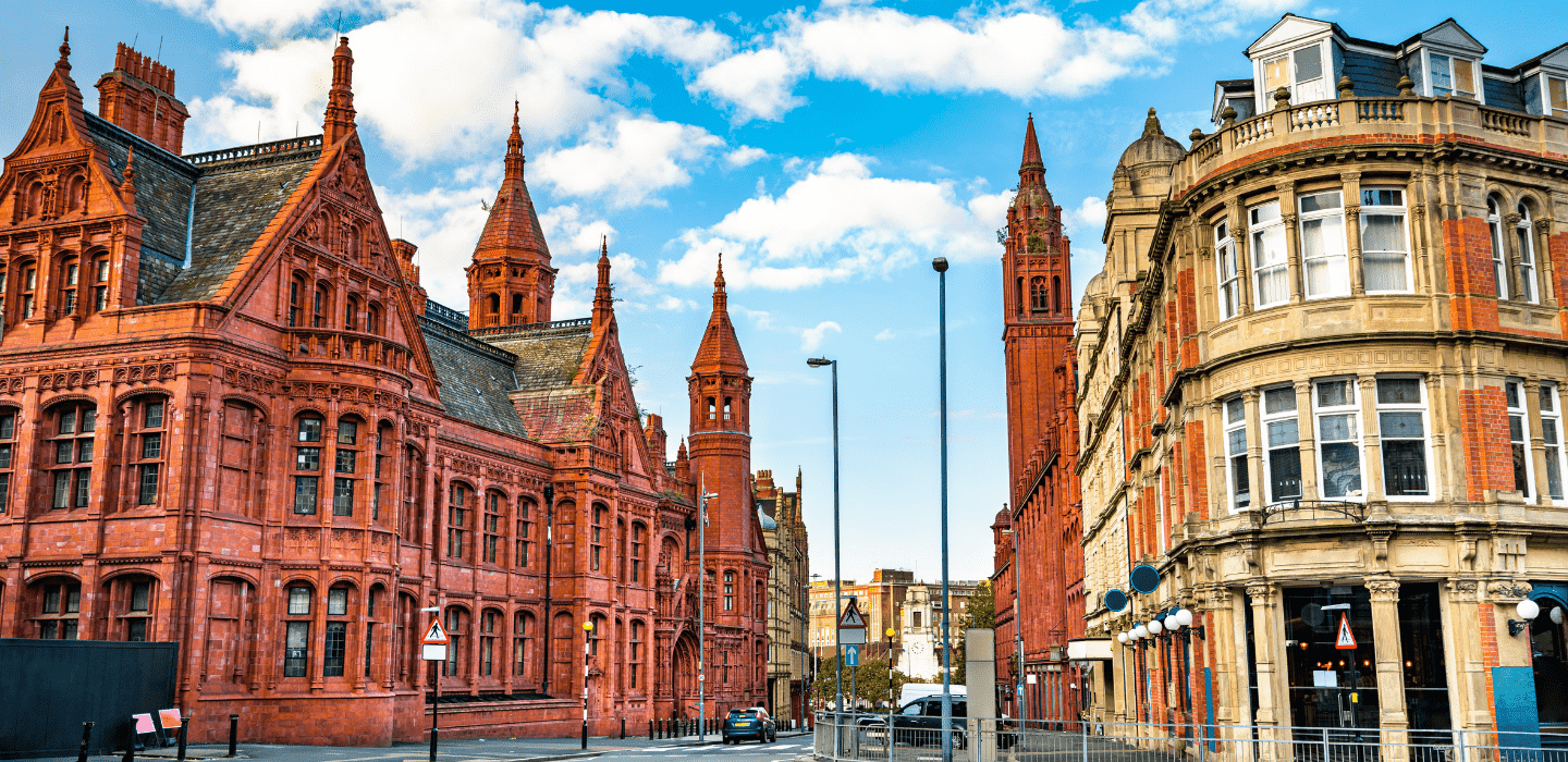 Methodist Central Hall and the Victoria Law Courts