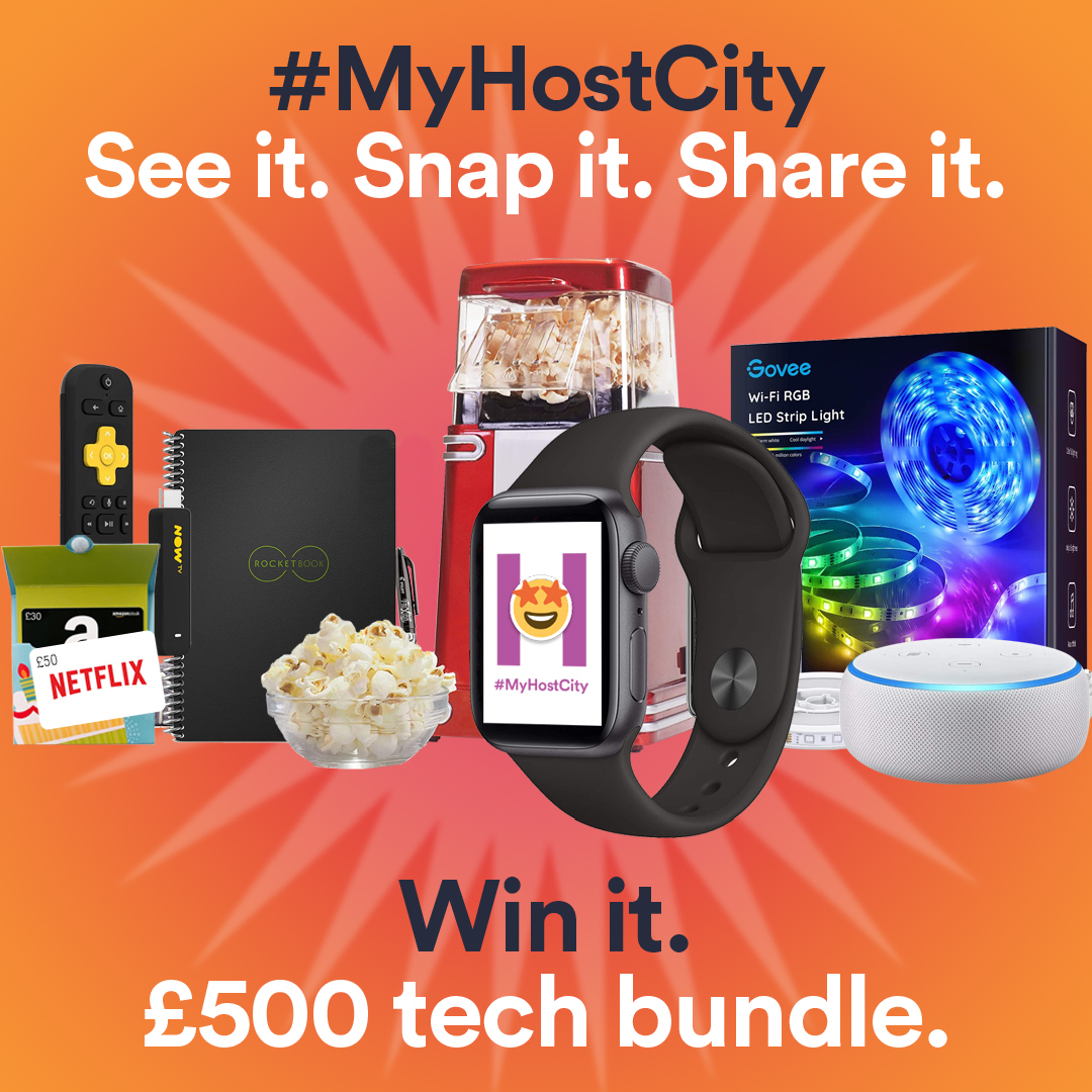 #MyHostCity - Win it!