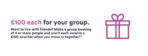 Free £100 each for group - Coventry