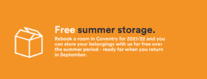 Free Summer Storage -coventry