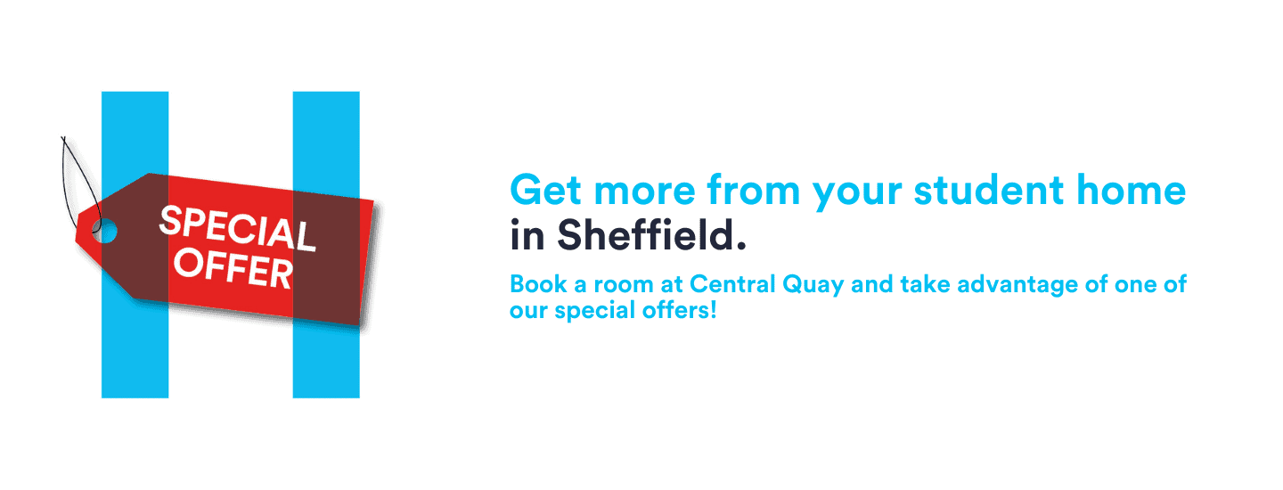 Special Offers Banner Central Quay Sheffield - 1440 x 550