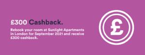 sunlight apartments 300 cashback banner