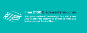 Blackwell's Book voucher - Central Quay Sheffield