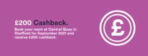 Central Quay 200 cashback offer