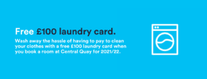 Free £100 laundry card- Central Quay (1)