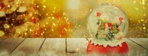 christmas snow globe budget gift