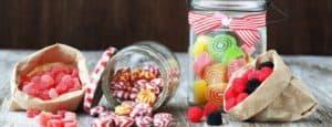 home made sweet jar