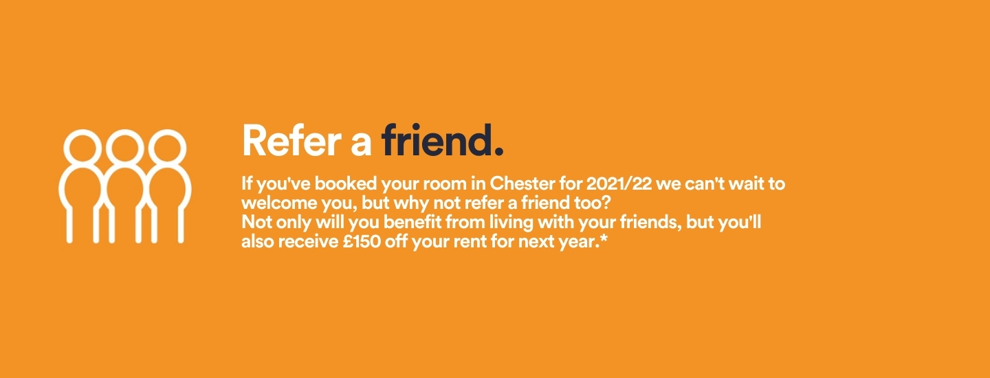 Refer a friend at Fontessa House and receive £150 rent reduction for 2021/22