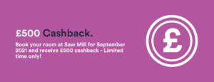 Saw Mill £500 Cashback
