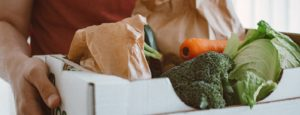 fresh food delivery box with student discount