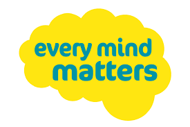 nhs every mind matters logo