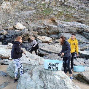 planet patrol university network students on rocks