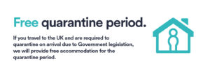host free quarantine period banner