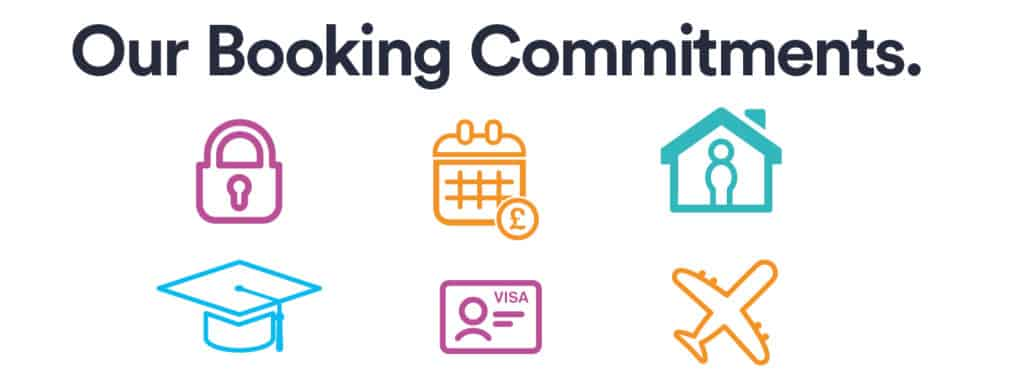 host our booking commitments - 2021-22 - heading