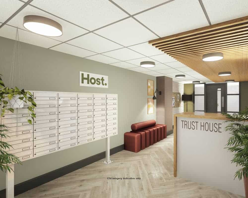 Host Trust House Exeter Reception