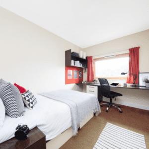 En-suite rooms at Heantun point