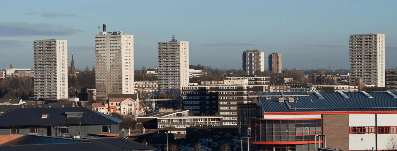 Wolverhampton's Skyline