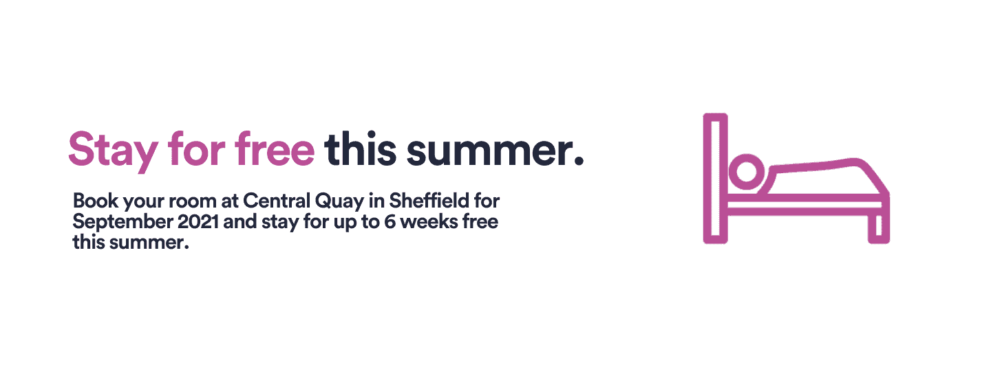 Stay for summer - 1440 x 550 - Sheffield