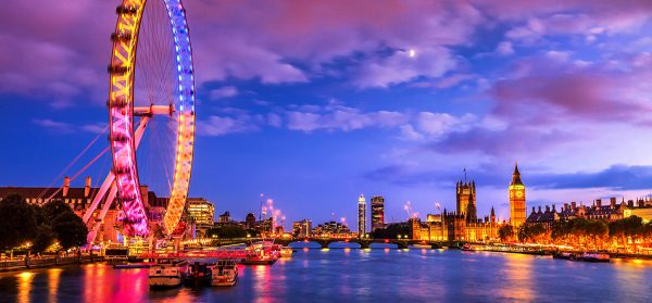 London City Thames and London Eye