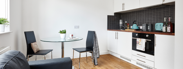 Host Shand House - Student Accommodation in Cardiff 2 Bed Apartment
