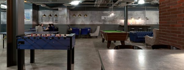 Host Hope Street Apartments - Student Accommodation in Liverpool Common Room