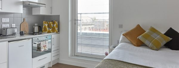 Host Hope Street Apartments - Student Accommodation in Liverpool Penthouse Studio