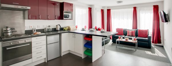 Host The Metalworks - Student Accommodation in Birmingham Shared Kitchen
