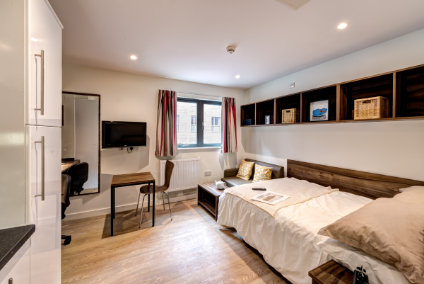 Host The Printworks - Student Accommodation in Exeter Premier Studio