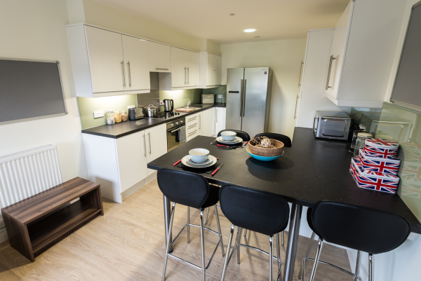 Host The Printworks - Student Accommodation in Exeter Shared Kitchen