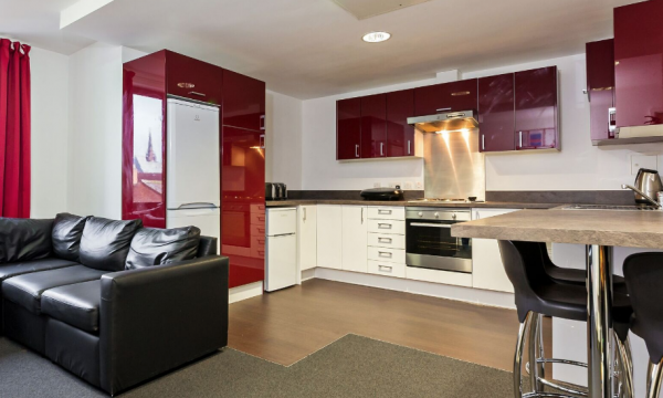Host The Apollo Works - Student Accommodation in Coventry Shared Kitchen