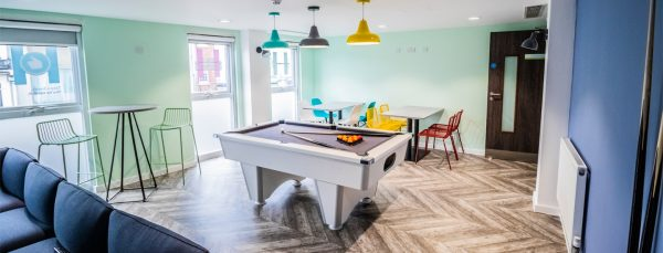 Host Frobisher House - Student Accommodation in Plymouth Shared Living Space