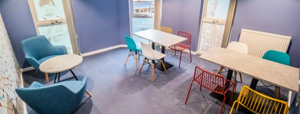 Host Frobisher House - Student Accommodation in Plymouth Study Room