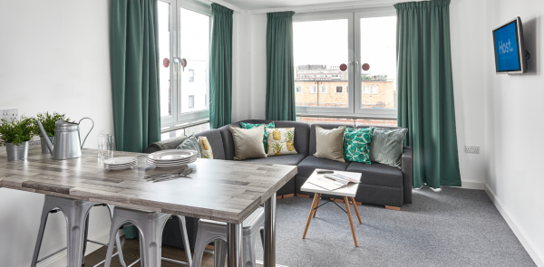 Host The Glassworks - Student Accommodation in Leicester Shared Lounge