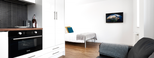 Host Shand House - Student Accommodation in Cardiff Studio Deluxe