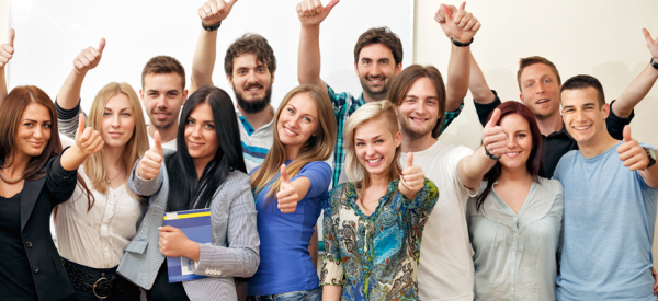 Host happy students