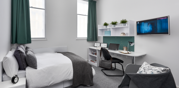 Host The Glassworks Standard Plus Studio student room in Leicester