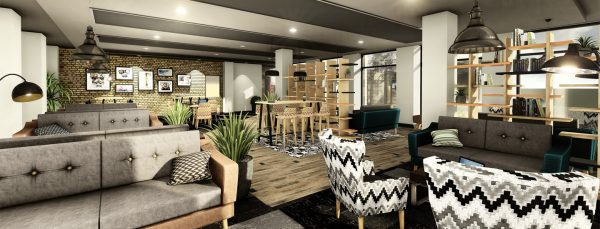 Host Southampton Crossings - Student Accommodation in Southampton common room