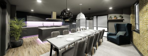 Host Southampton Crossings - Student Accommodation in Southampton dining room