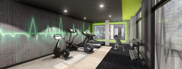 Host Southampton Crossings - Student Accommodation in Southampton gym