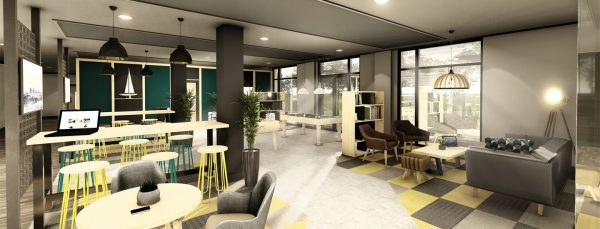 Host Southampton Crossings - Student Accommodation in Southampton reception