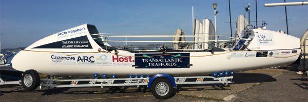 Transatlantic Traffords on Talisker Whisky Atlantic Challenge 2018