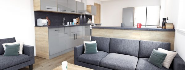 Host Southampton Crossings - Student Accommodation in Southampton cluster kitchen